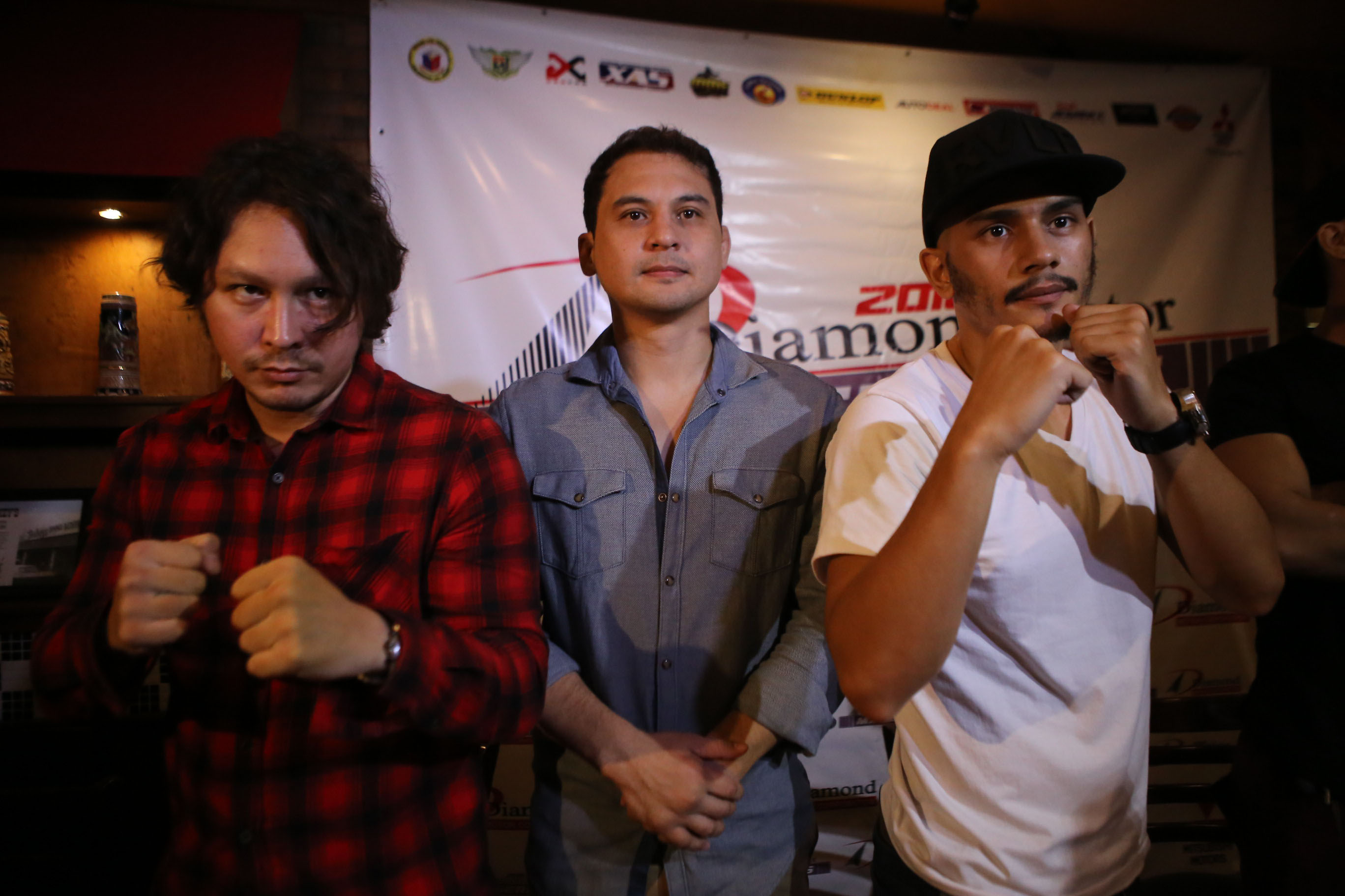 IT'S ON. An MMA match will settle the beef  between Geisler and Matos that started with an altercation at a Quezon City bar. Photo by Josh Albelda/Rappler