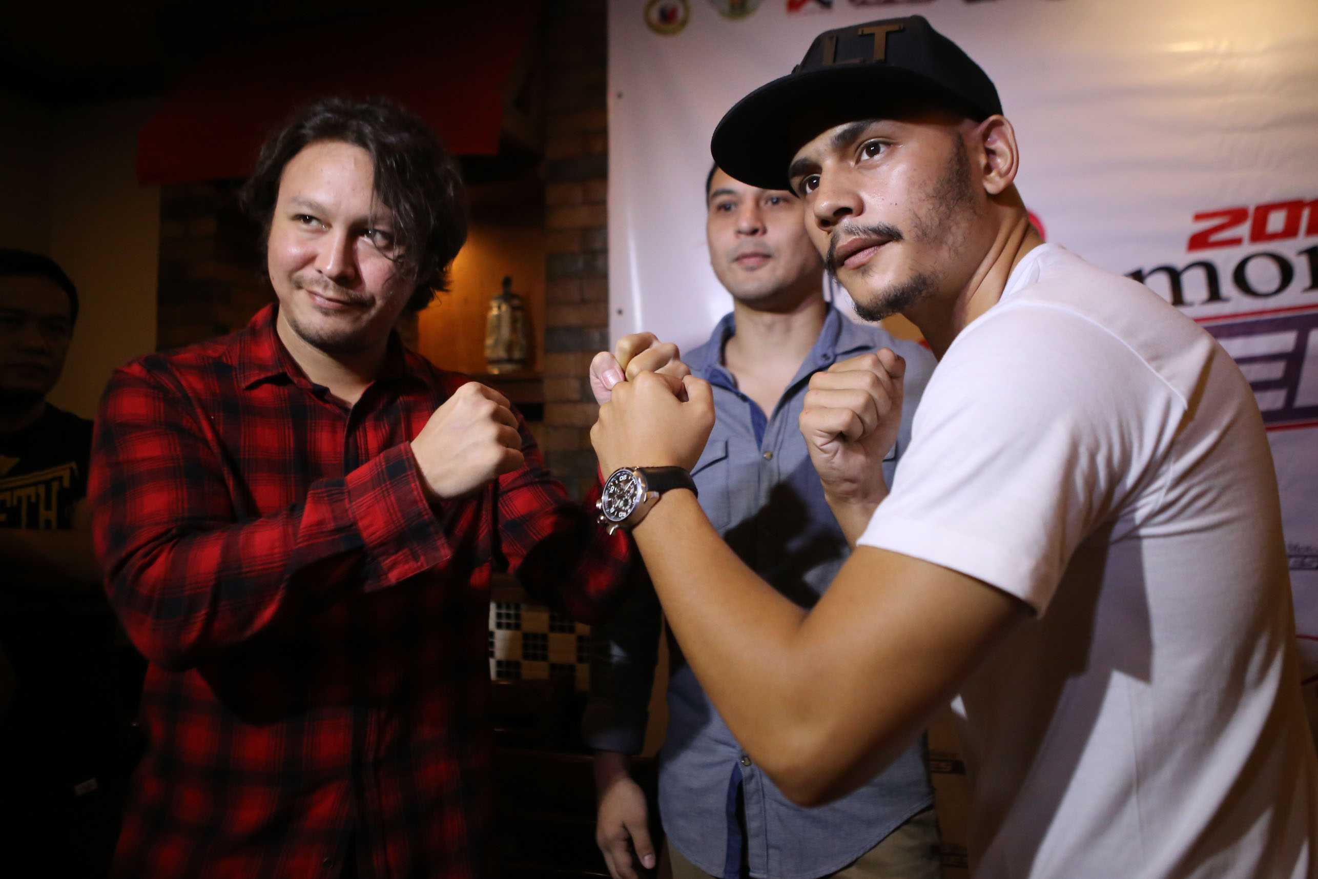 FIGHT. Geisler and Matos will face each other on June 25 inside the URCC cage. Photo by Josh Albelda/Rappler