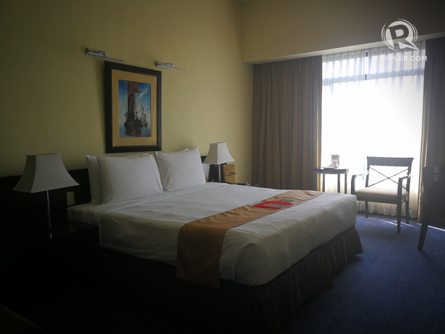 WATERFRONT CEBU'S ROOMS. Comfort and space when you need it the most.