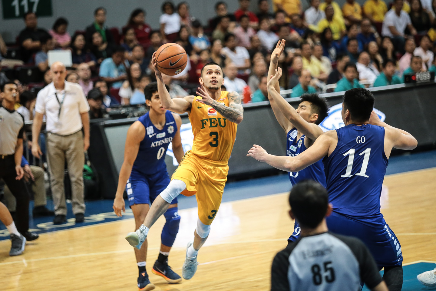THE FUTURE. Only in his first playing year, FEU's star point guard Jasper Parker led the Tamaraws with 19 points, 4 rebounds, 2 assists and 2 steals. Photo by Josh Albelda/Rappler