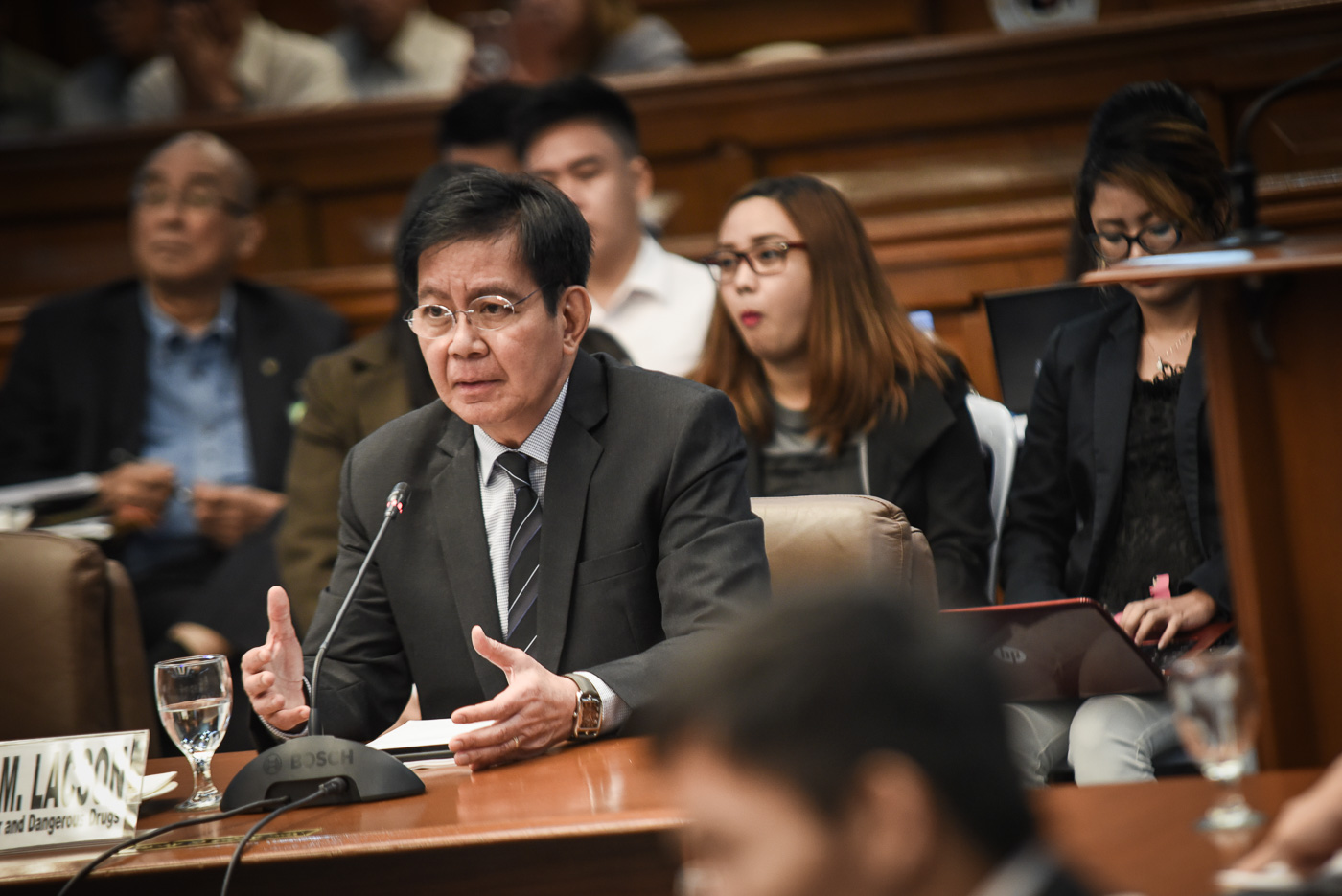 CASE VS PORK. Senator Panfilo Lacson eyes filing a case before the Supreme Court to question the 2017 budget, allegedly filled with 'pork barrel.'Photo by LeAnne Jazul/Rappler