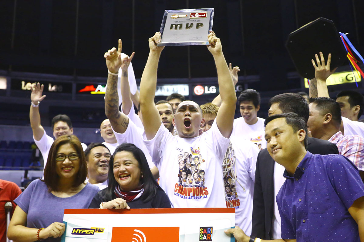 FINALS MVP. Paul Lee goes from struggling with injuries to Finals MVP. Photo by Josh Albelda/Rappler