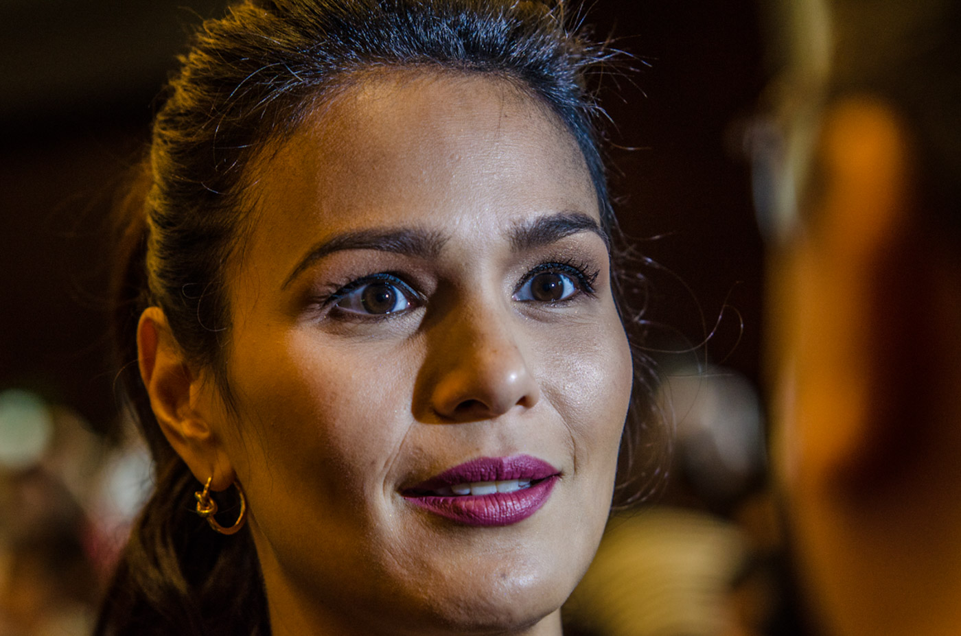 ACTRESS IZA CALZADO. Iza Calzado says she's open to roles that will challenge her, including kissing a transgender actor. All photos by Rob Reyes/Rappler