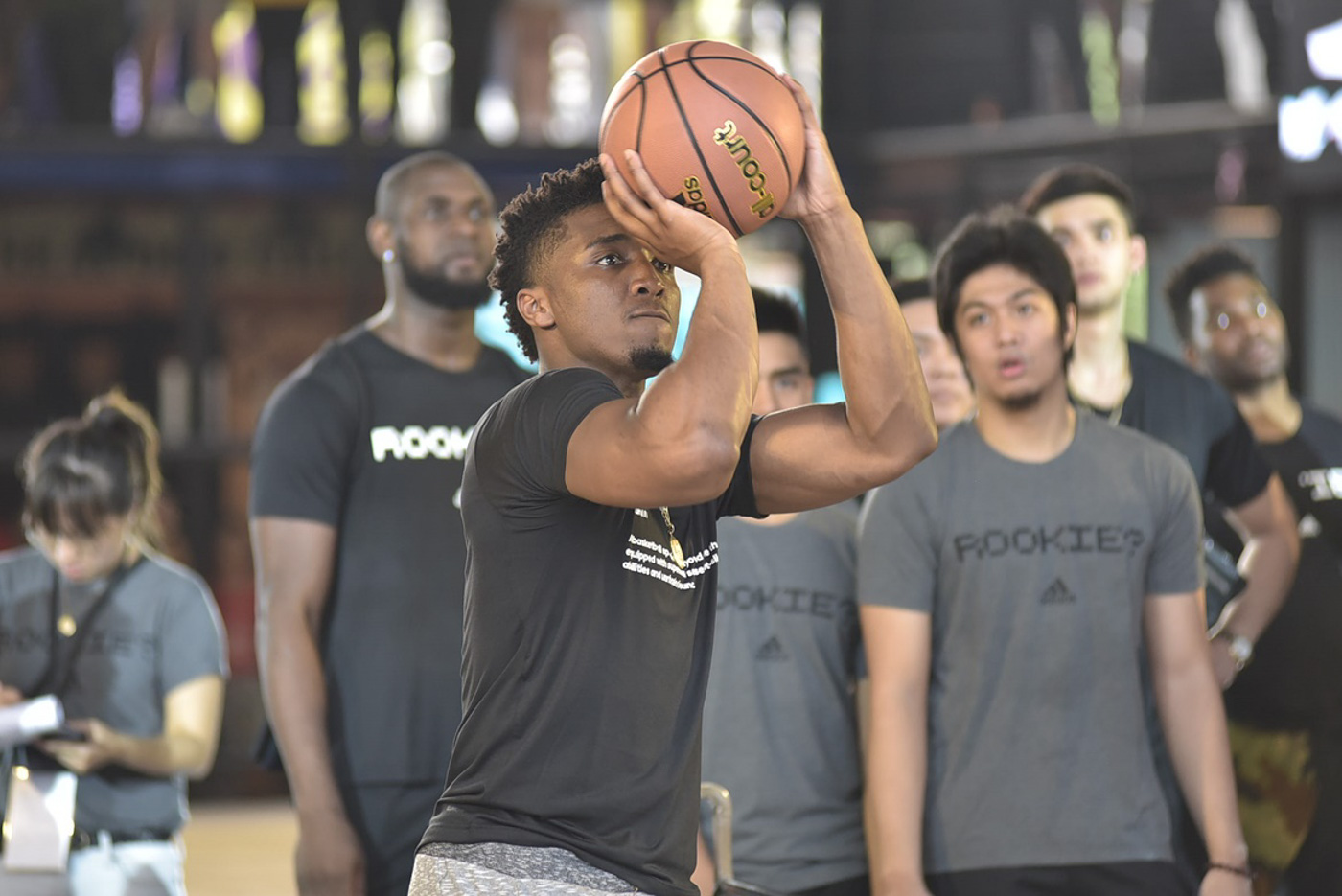 STAR. Utah Jazz stalwart Donovan Mitchell visits the Philippines for the first time. Photo by Alvin Brian Go/Rappler