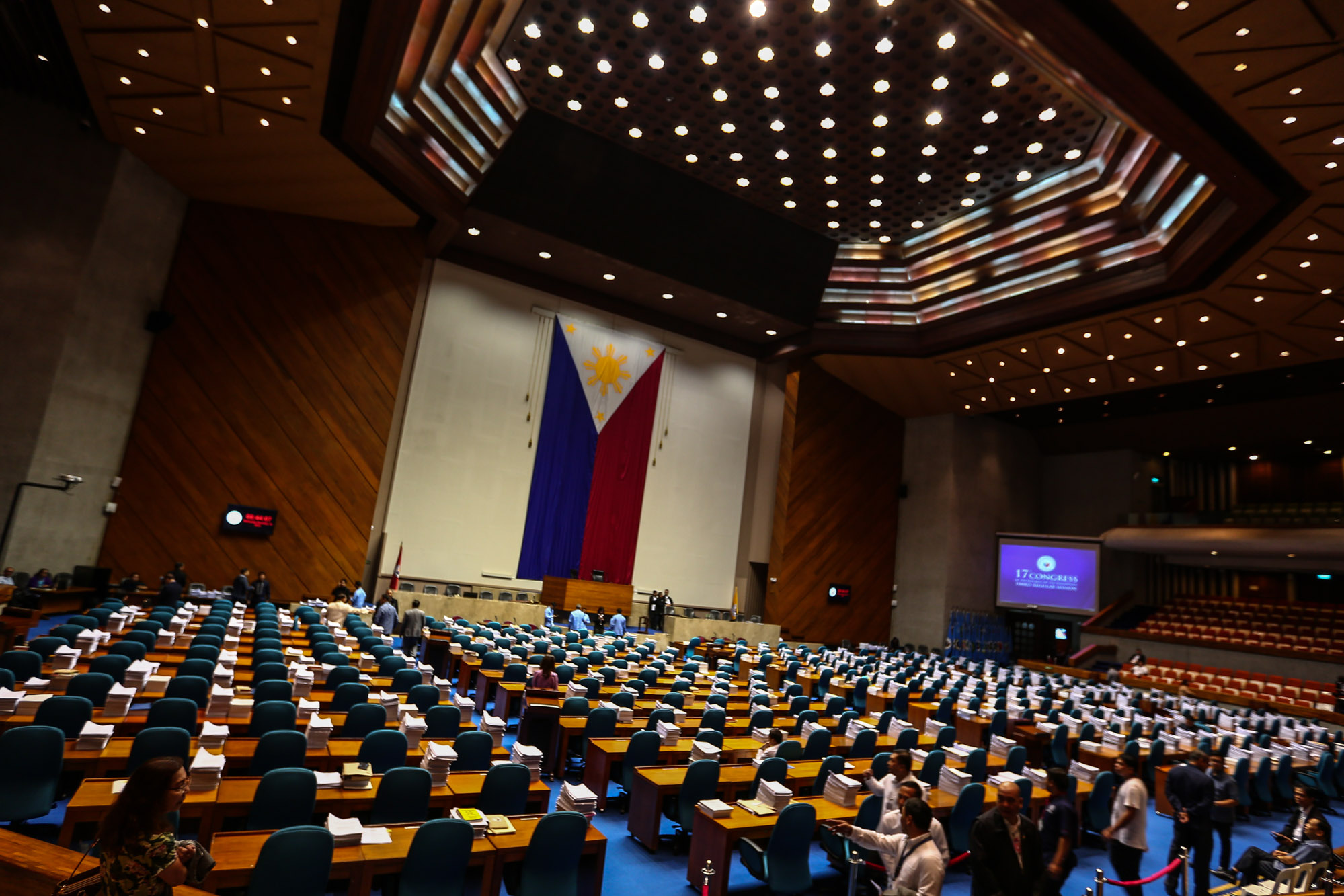 LOWER HOUSE. Members of the House of Representatives will get to craft, vote, and decide on legislation that will affect Filipinos' lives. Photo by Jire Carreon/Rappler