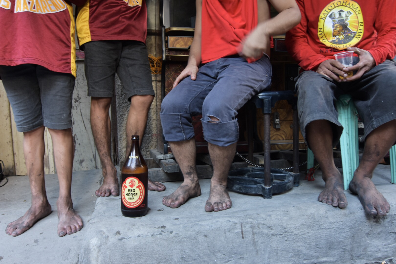 LIQUOR BAN? For residents a fiesta is not a fiesta without alcohol.