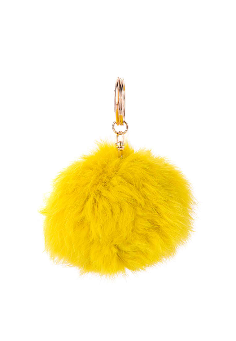 Fur ball keychain by Spring Fling (P199.20) from Zalora.com