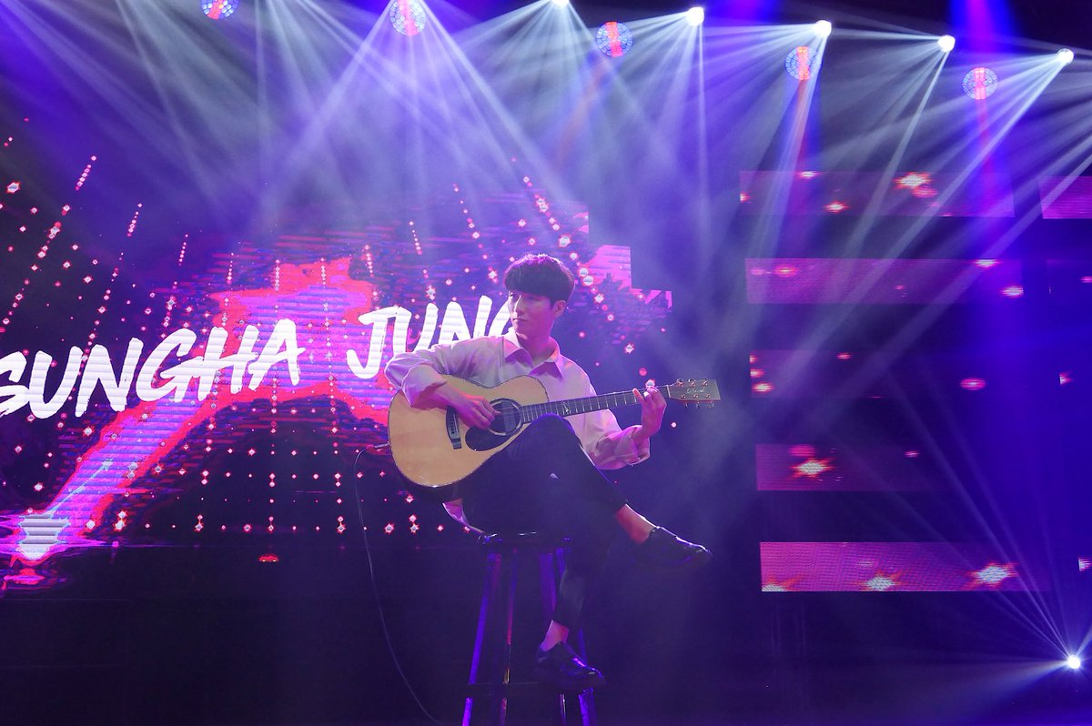RETURN. Korean musical genius Sungha Jung charms the audience with his acoustic guitar. Photo from YouTube
