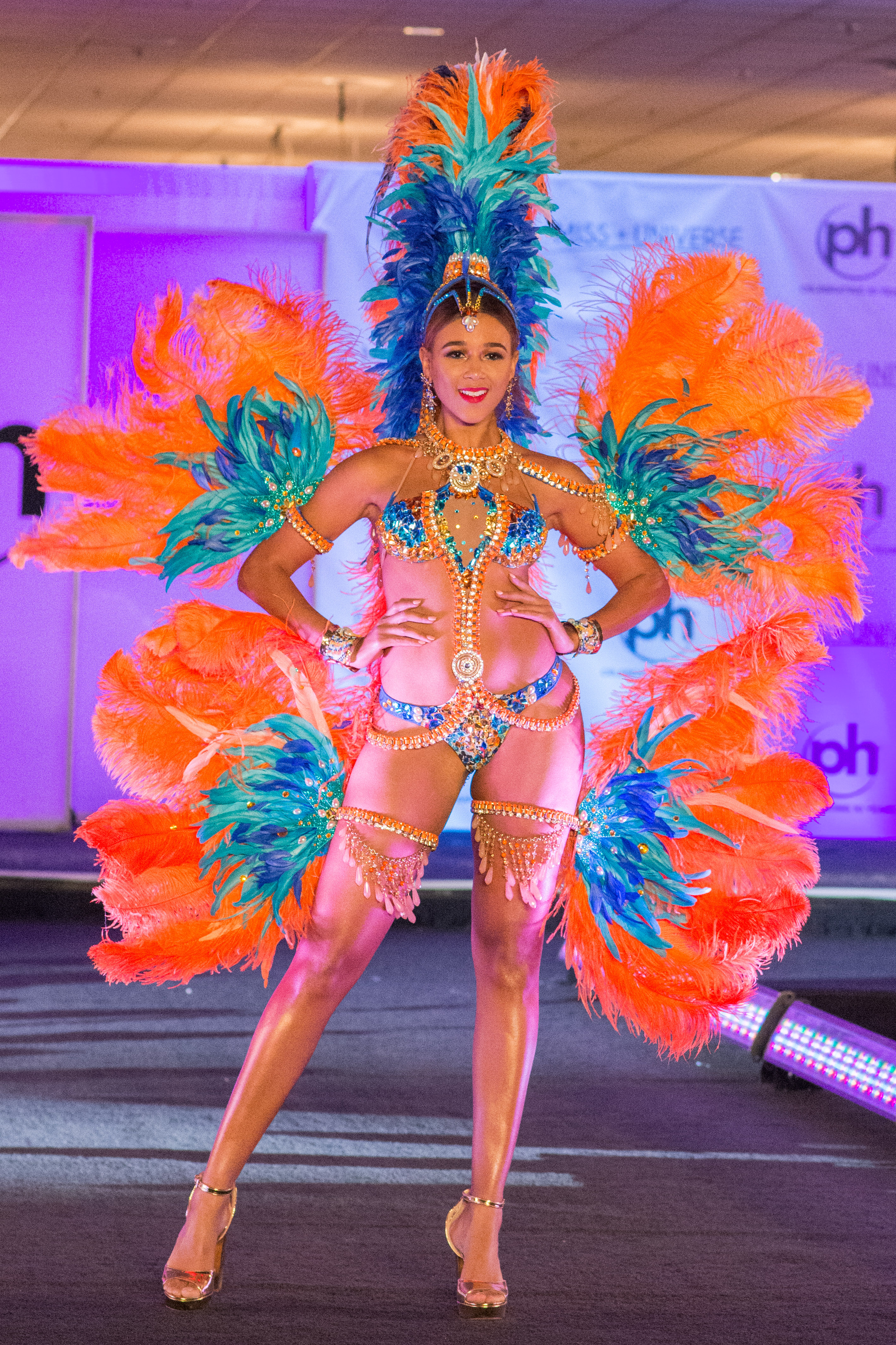 Miss Barbados Lesley Chapman-Andrews