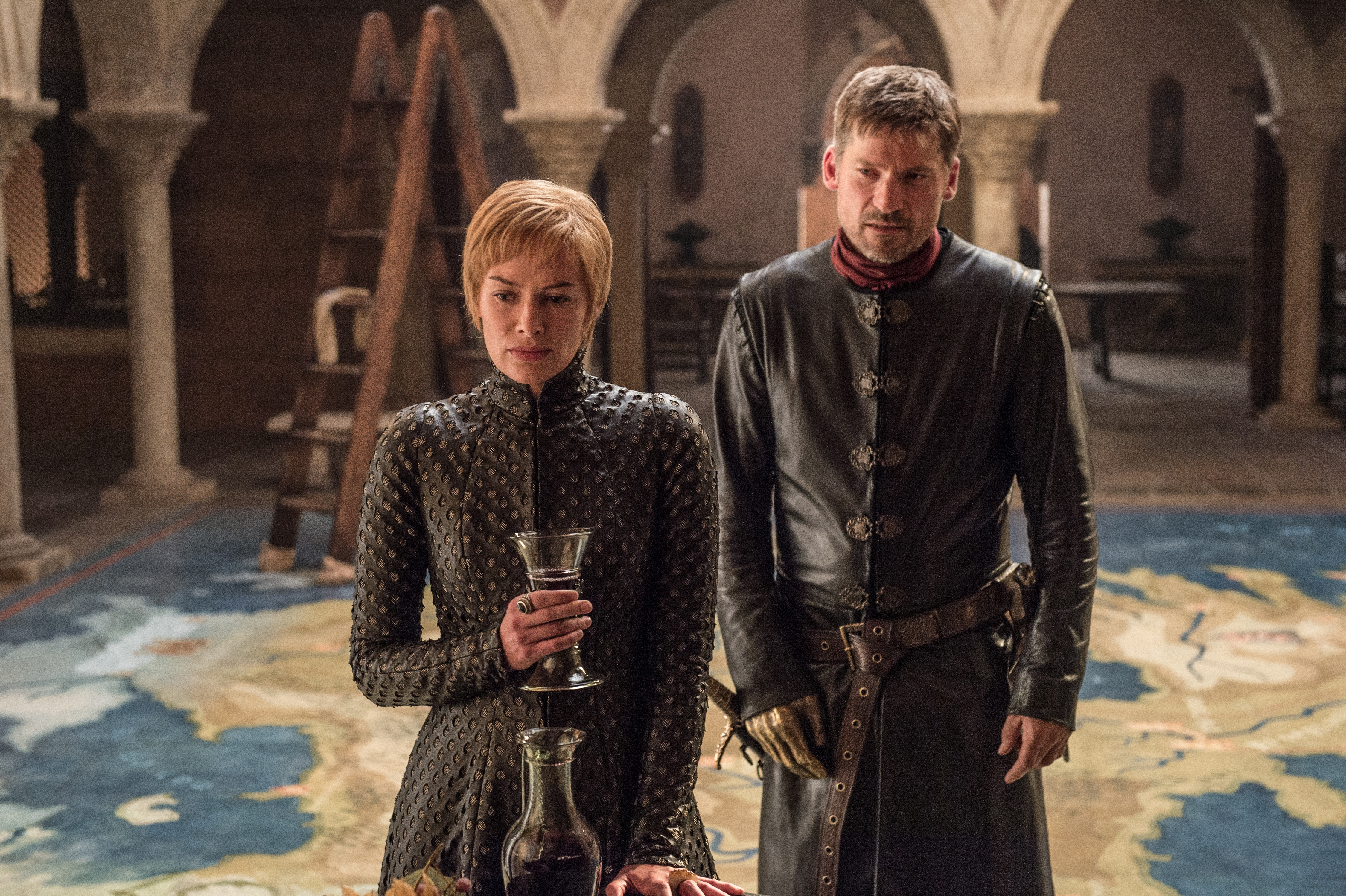 TWINCEST. If Cersei is to be believed, another Lannister baby is on the way. Photo by Helen Sloan/ HBO