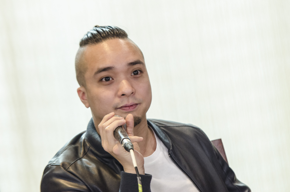 PRODUCER. Neil Arce is one of the producers of the movie. The script was written by his ex-girlfriend Bela Padilla.