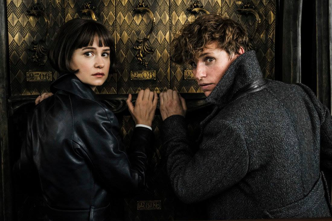TINA AND NEWT. The auror and the magizoologist embark on a new adventure. Photo from Facebook.com/Pottermore