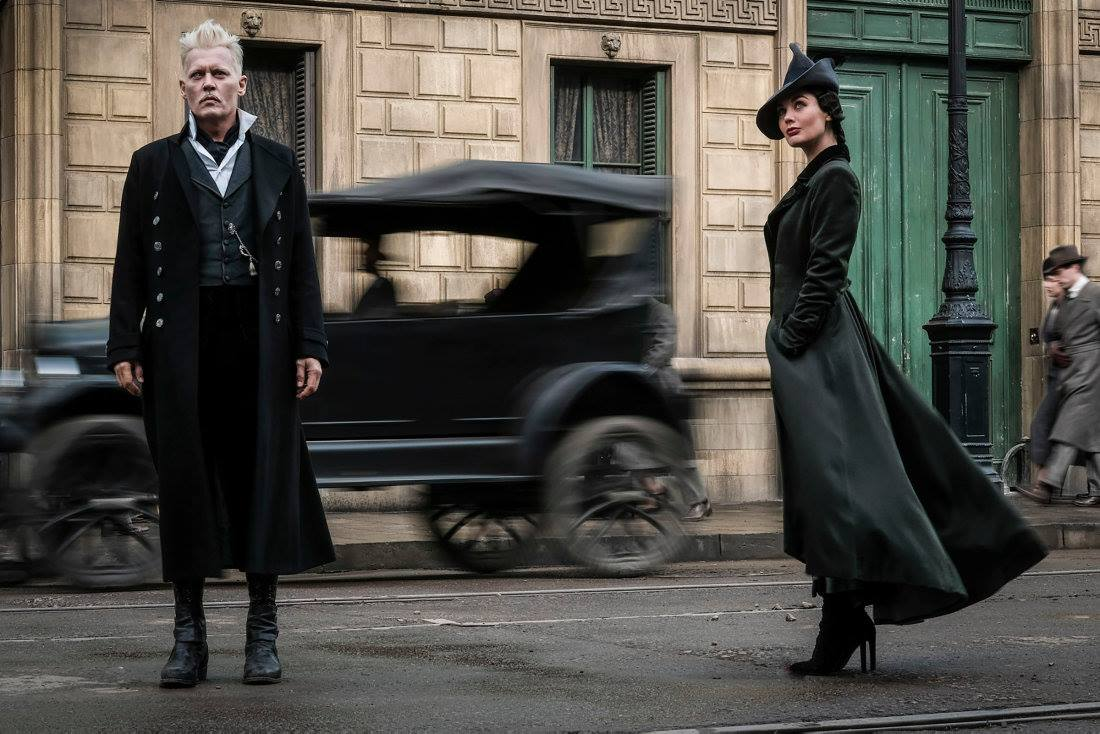 GELLERT GRINDELWALD. Johnny Depp plays the dark magician who takes centerstage in the new film. Photo from Facebook.com/pottermore