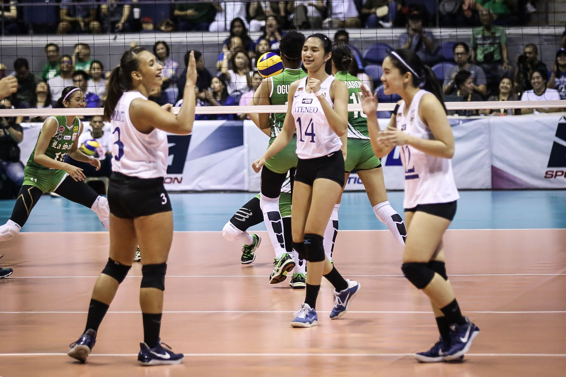 RUNNERS-UP. Ateneo Lady Eagles settled for second place in UAAP Season 79. Photo by Josh Albelda/Rappler