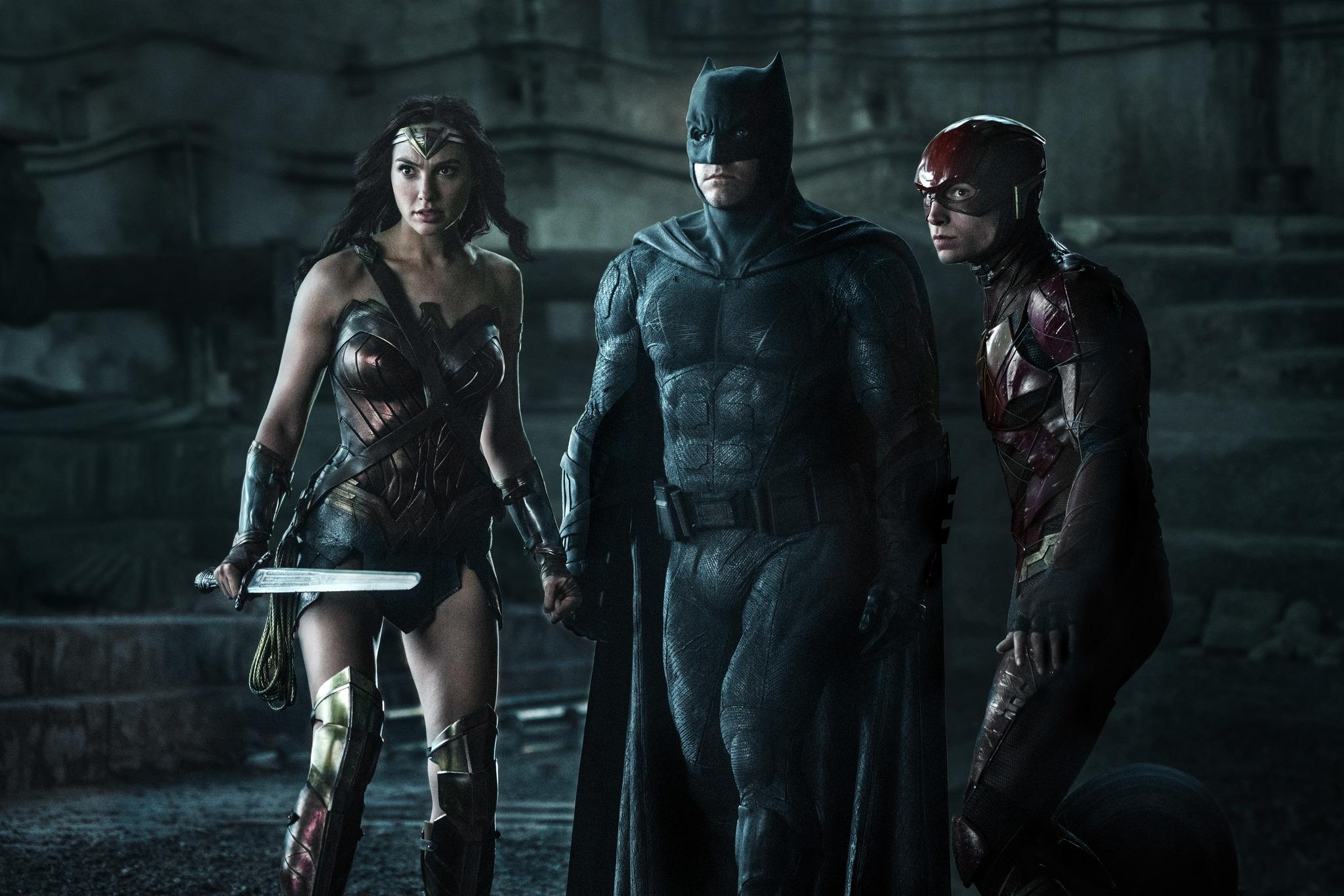 The Justice League unite to save the world from danger