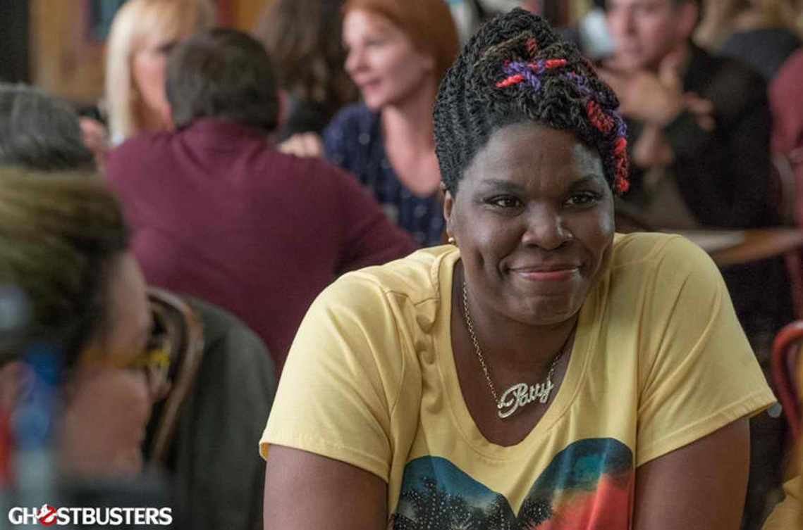 LESLIE JONES. Leslie Jones as Patty Tolan in 'Ghostbusters.' Photo courtesy of Columbia Pictures