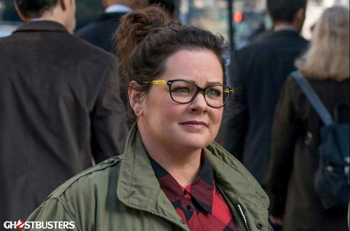 MELISSA MCCARTHY. Melissa McCarthy as Abby Yates in 'Ghostbusters.'  Photo courtesy of Columbia Pictures