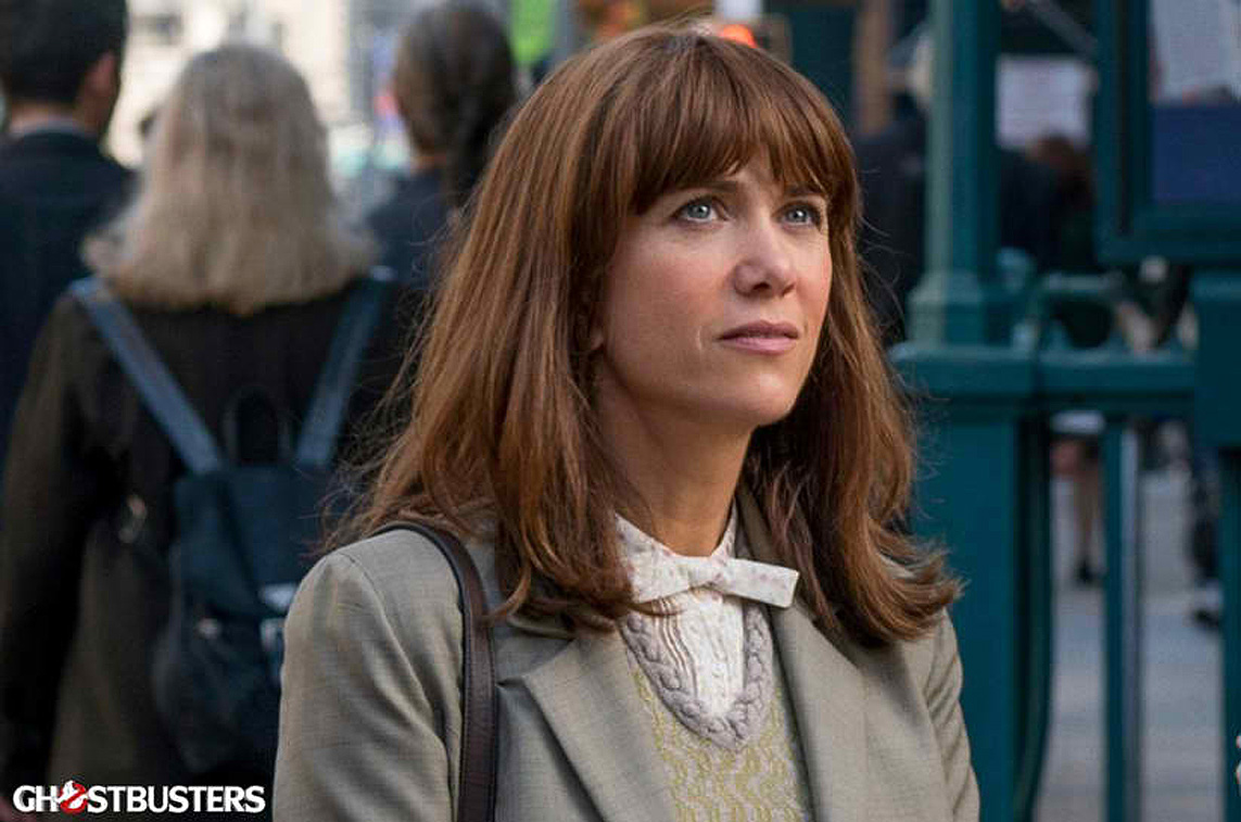KRISTEN WIIG. Kristen Wiig as Erin Gilbert in 'Ghostbusters.' Photo courtesy of Columbia Pictures