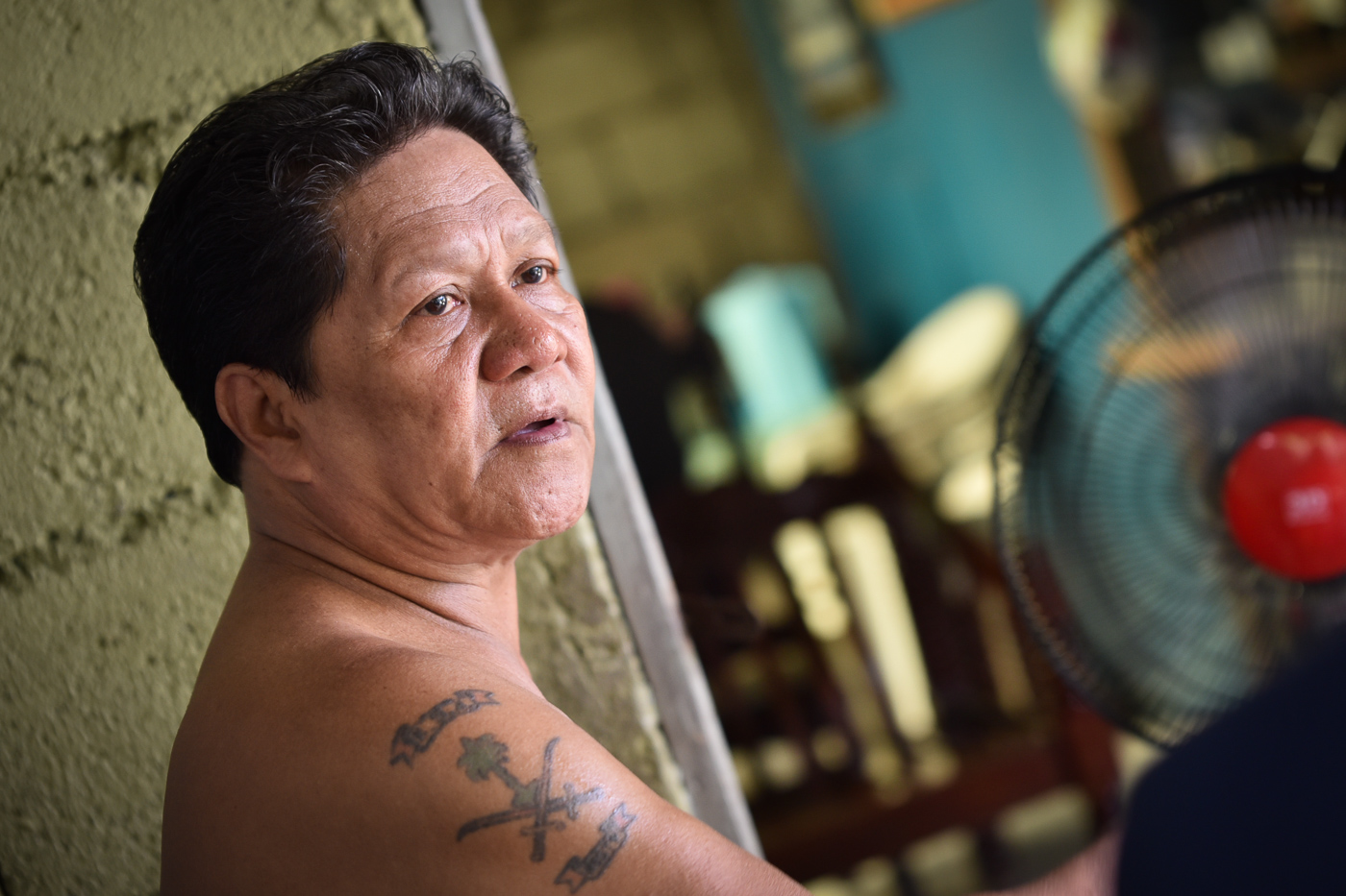 STRANDED. Rustico Lacostales, OFW stranded for 25 years in Saudi Arabia. Photo by LeAnne Jazul/Rappler