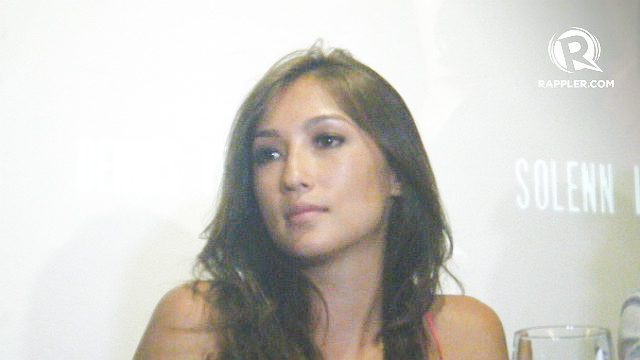 CELEBRATION OF ENGAGEMENT. Solenn Heussaff says the 'wedding' in Argentina was a celebration of the engagement and not a real wedding. Photo by Alexa Villano/Rappler