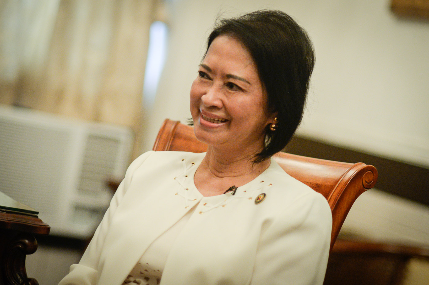 HATERS AND POLITICS. For Sato, receiving criticism is all part of her job as a lawmaker. Photo by LeAnne Jazul/Rappler