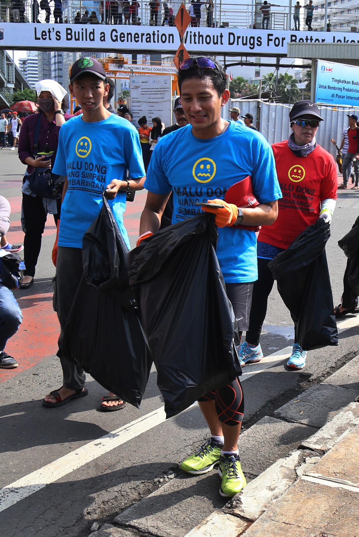 Sandiago Uno berniat mencalonkan dirinya sebagai Gubernur DKI Jakarta. Foto oleh Reno Esnir/Antara
