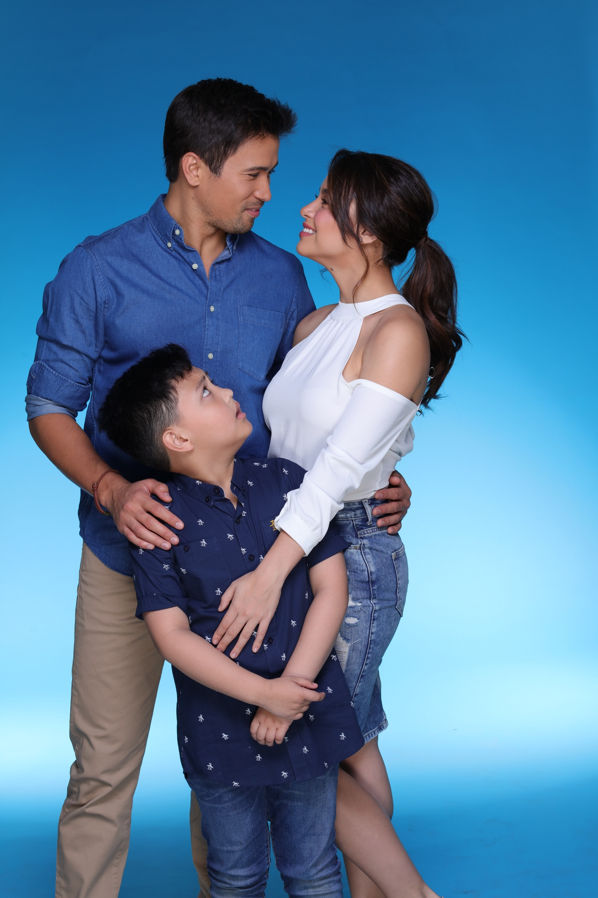 MAKE IT WORK. Trina finds herself in an unusual position of having a boyfriend with a son. Photo courtesy of Viva