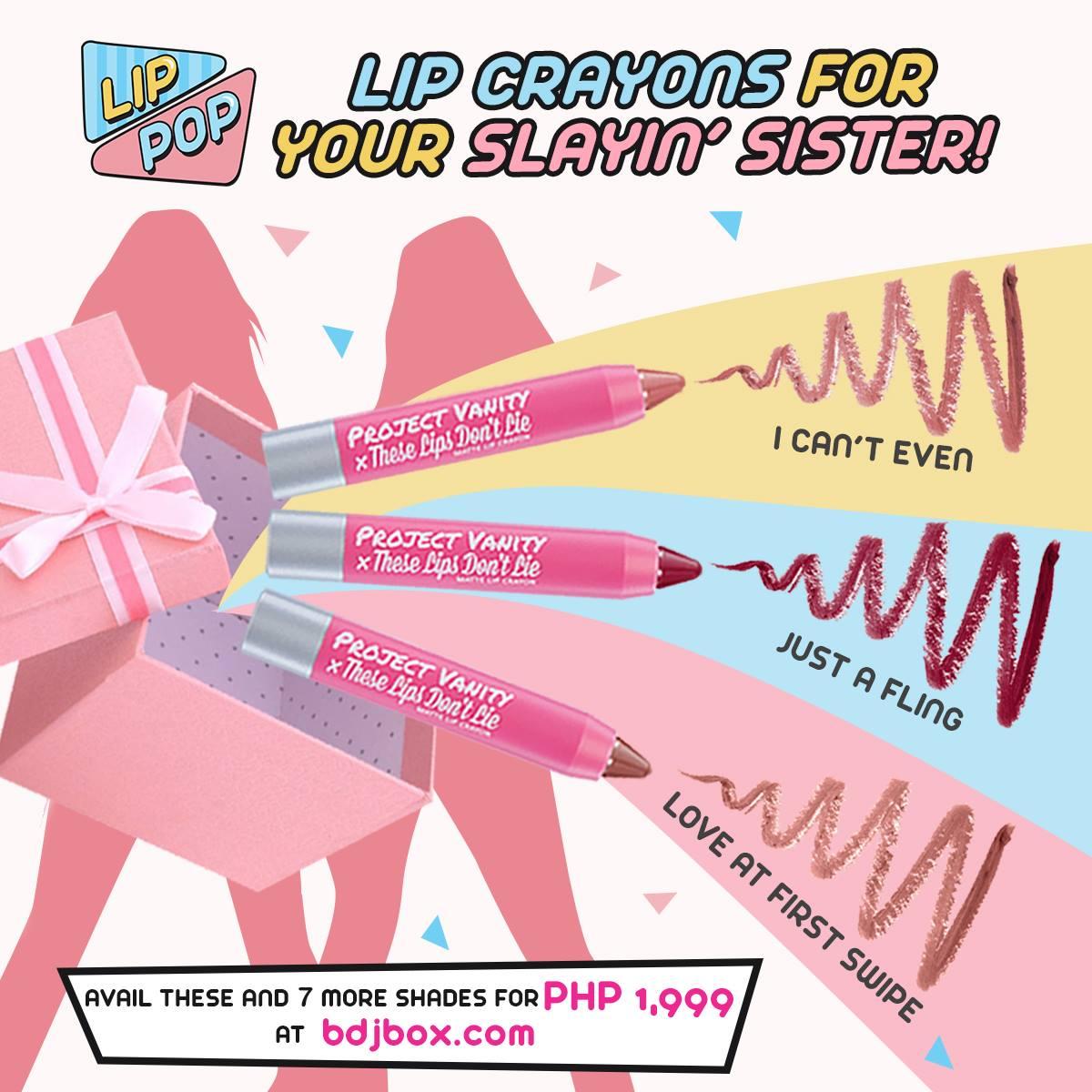 Lip box (P1,999) from bdjbox.com
