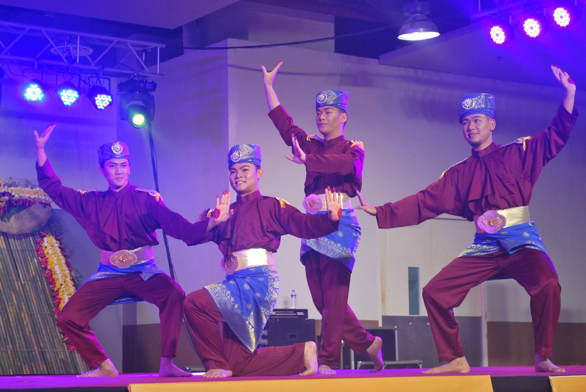 BRUNEI. Another traditional dance, this time from Brunei. Photo courtesy of MSU-CETD Integrated Multimedia group, Budayaw Facebook page