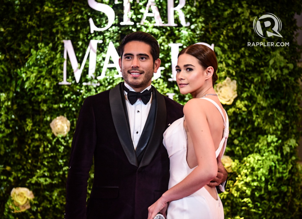 DATES. Gerald Anderson and Bea Alonzo at the 2017 Star Magic Ball. File photo by Alecs Ongcal/Rappler