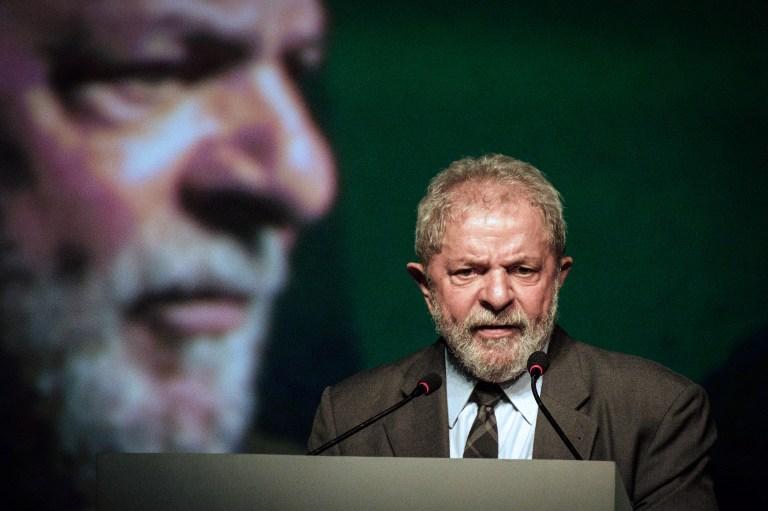 LULA QUITS. Brazil's former president (2003-2011) Luiz Inacio Lula da Silva in Rio de Janeiro, Brazil on October 4, 2016. File photo by Yasuyoshi Chiba/AFP