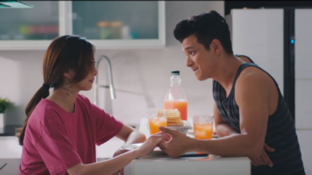 FIRST TIME TANDEM. Jericho Rosales and Jennylyn star in  'Walang Forever,' directed by Dan Villegas. Screengrab from YouTube/Quantum Films