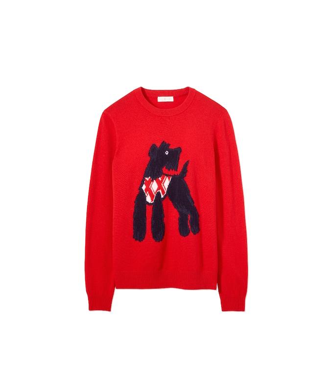 Barkley Sweater. All photos courtesy of Tory Burch