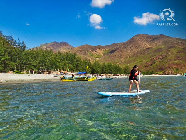 STAND-UP PADDLEBOARDING. While you can just relax and take a dip, you can also get more active and do stand-up paddleboarding.
