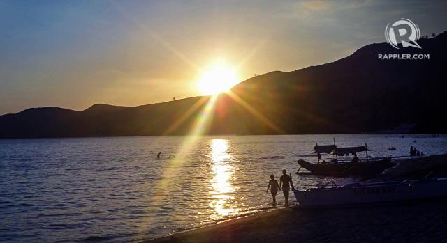 QUIET SUNSET. Enjoy Nagsasau2019s sunset after your trek