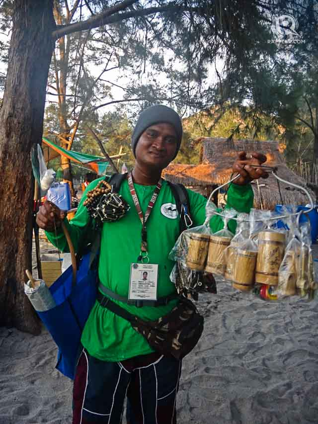 CREATIVE LOCALS. This man makes and sells bamboo sound amplifiers for smartphones