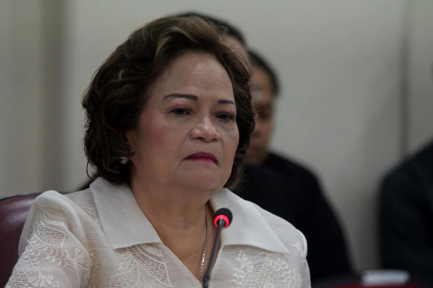 SAME-SEX MARRIAGE. Supreme Court Associate Justice Teresita de Castro worries that allowing same-sex marriage will result in complications over the definition and application of other gender-specific laws on marriages. File photo by Darren Langit/Rappler