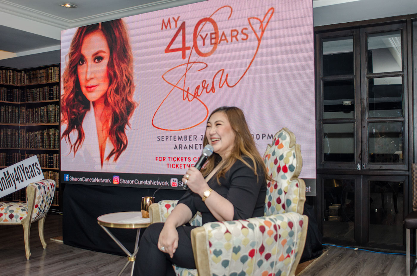 SOCIAL MEDIA. Aside from her personal Instagram, Sharon Cuneta's presence will be felt through the Sharon Cuneta Network on YouTube, Facebook, and Twitter. Photo by Rob Reyes/Rappler