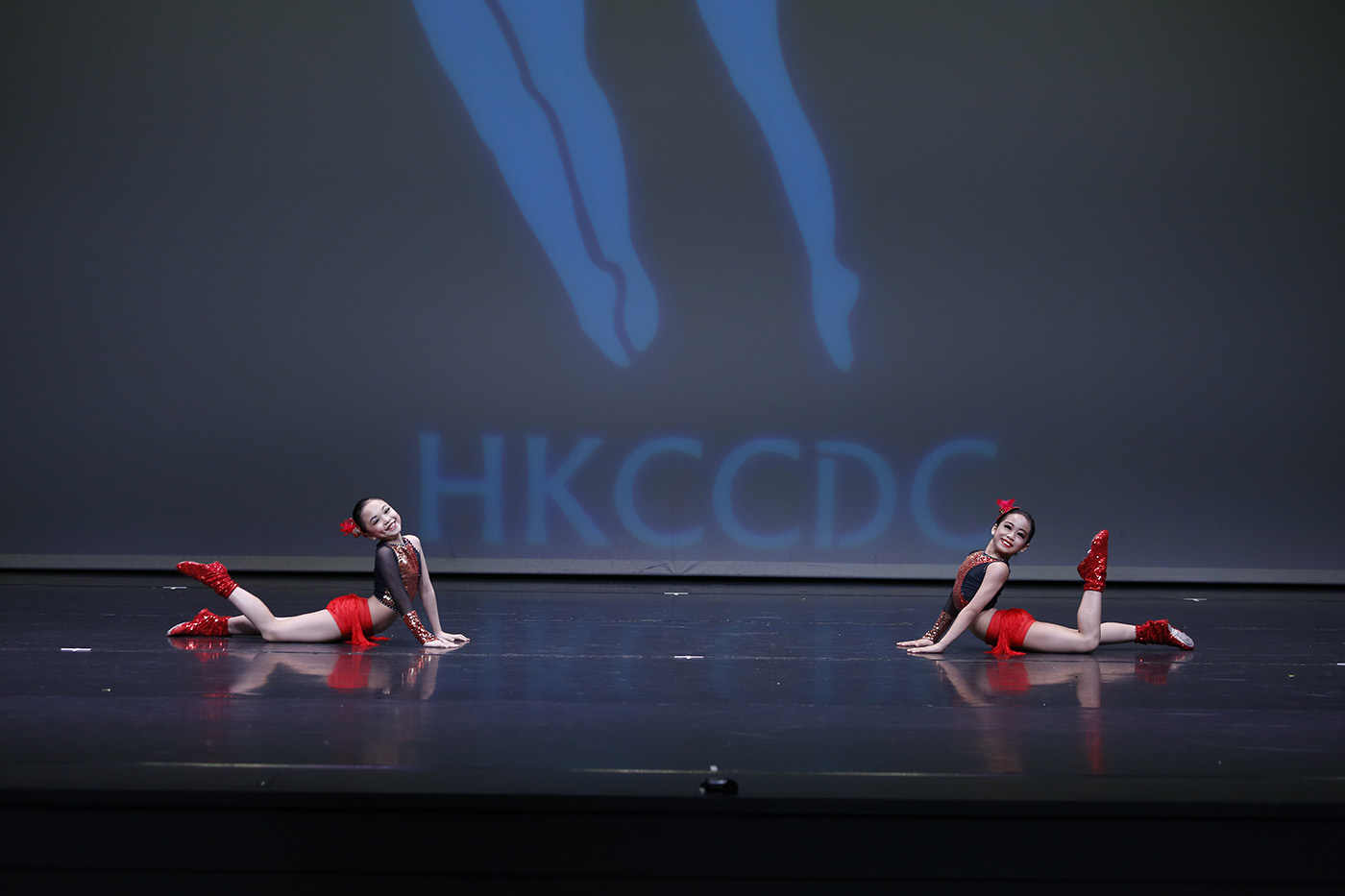 PASSION. Sophia Marie Lily A. Lucito and Herbie Amber Arbo Bobier win gold medals with their performance at the 8th annual Hong Kong Challenge Cup Dance Competition, held at Y Theatre in Chai Wan, Hong Kong. Photo courtesy of Dance Theatre Arts Philippines