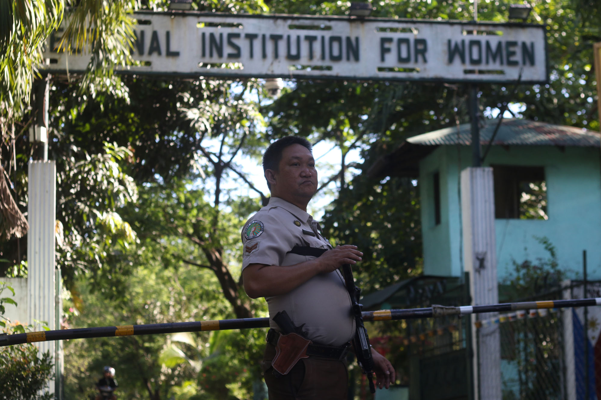 DETENTION FACILITY. The Correctional Institution for Women in Mandaluyong City where pork barrel scam mastermind Janet Lim Napoles was previously jailed. File photo by Inoue Jaena/Rappler