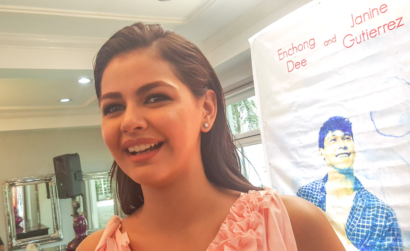 NEW GENRE. Janine Gutierrez embarks on her first romantic-comedy film. The actress, daughter of '80s tandem Lotlot de Leon and Ramon Christopher is know for drama roles on television. Photo by Alexa Villano/Rappler
