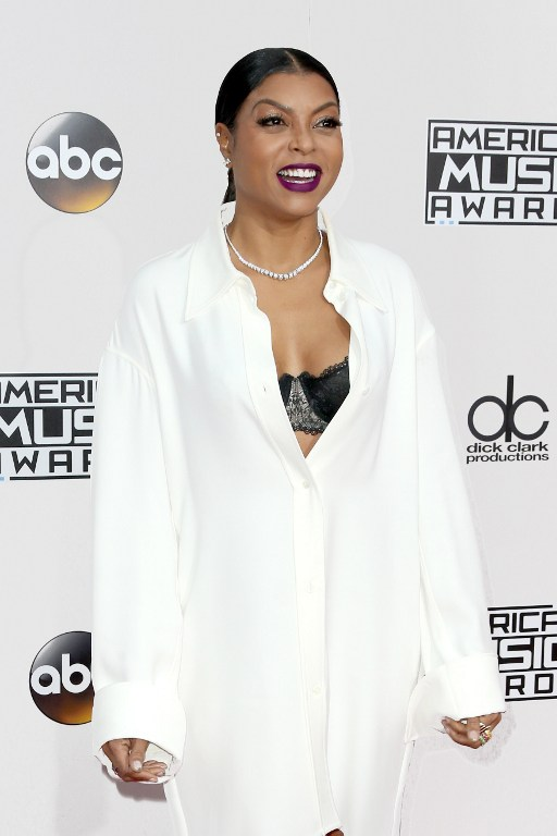 Taraji P. Henson attends the 2016 American Music Awards at Microsoft Theater on November 20 in Los Angeles, California. Photo by Frederick M. Brown/Getty Images/AFP