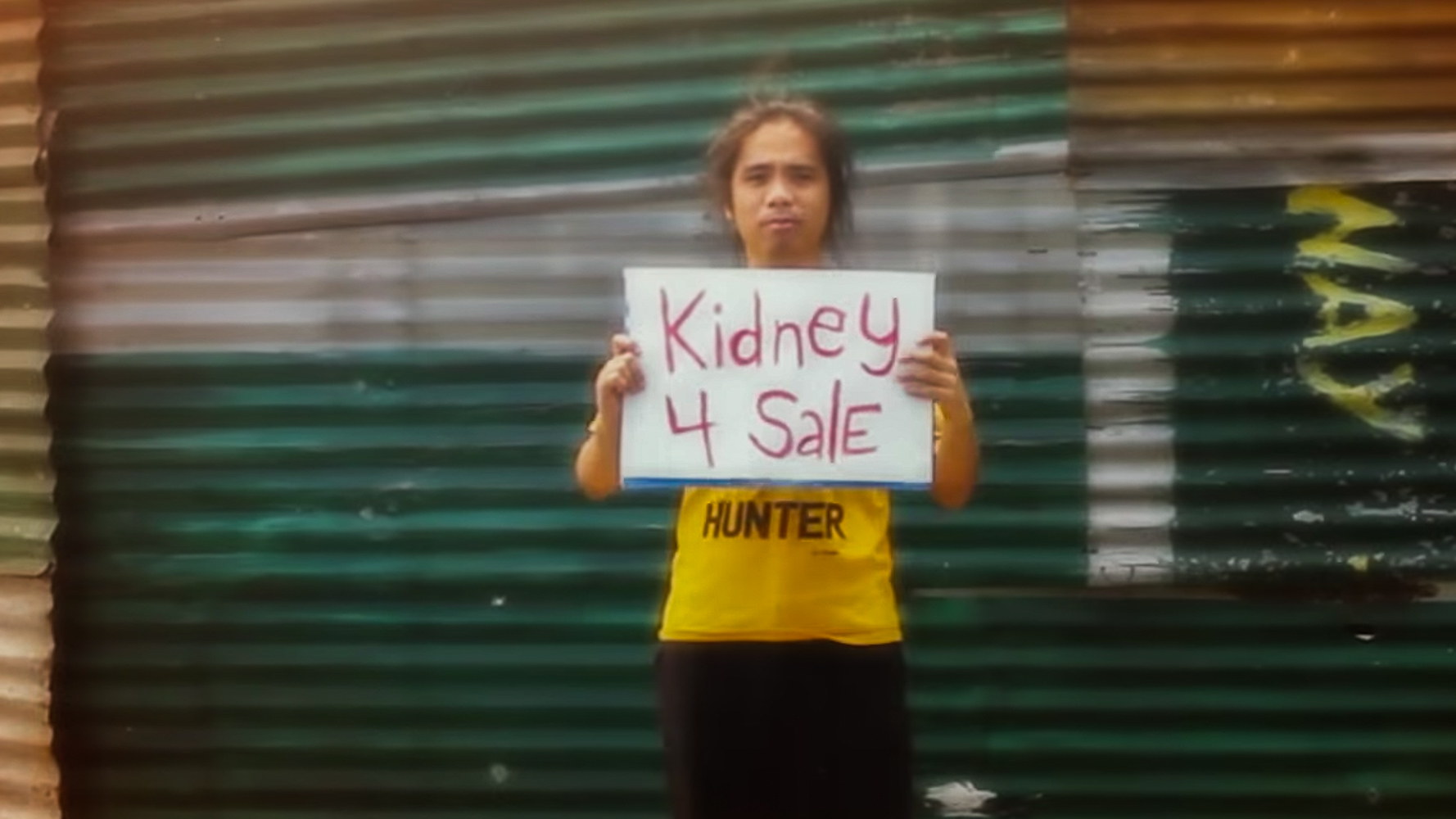 KIDNEY 4 SALE. To keep 'Sally' moving, direk Avid Liongoren needed to raise money for post-production. This is a screenshot from one of his YouTube videos asking fans to chip in to save 'Sally.'