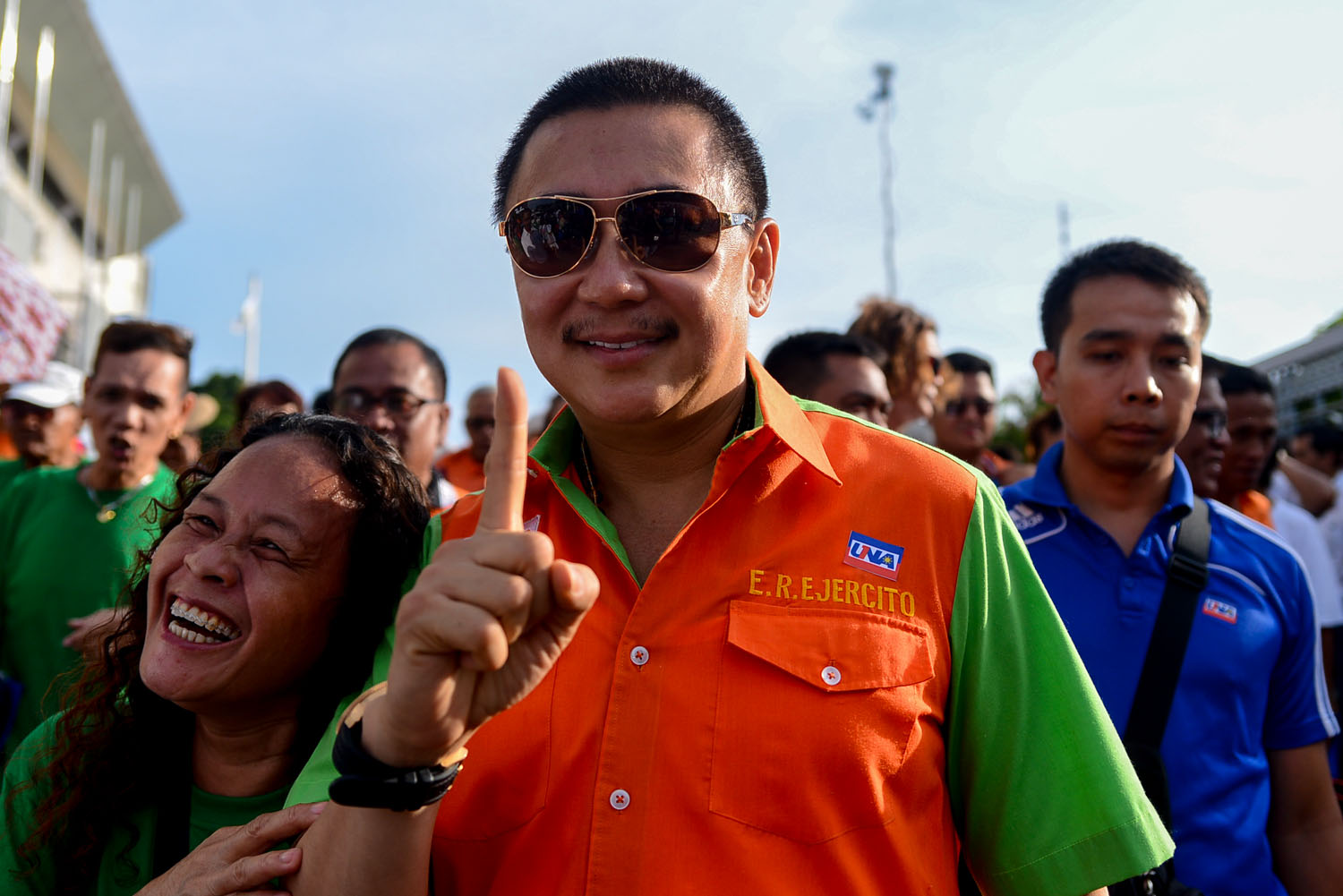 SERIOUS DRIVE. Vince Lazatin of the Transparency and Accountability Network says the decision to disqualify former Laguna Governor ER Ejercito for overspending shows the Comelec was serious about campaign finance. File photo by Jansen Romero/Rappler