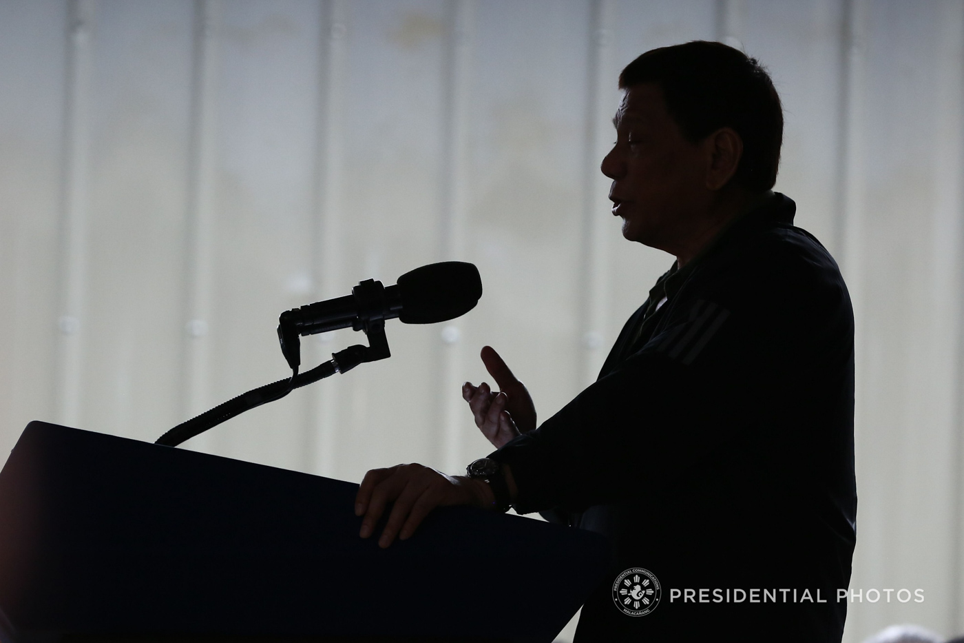 'THE PUNISHER.' President Rodrigo Duterte stands for the Filipino dream of 'swift justice.' Malacau00f1ang file photo