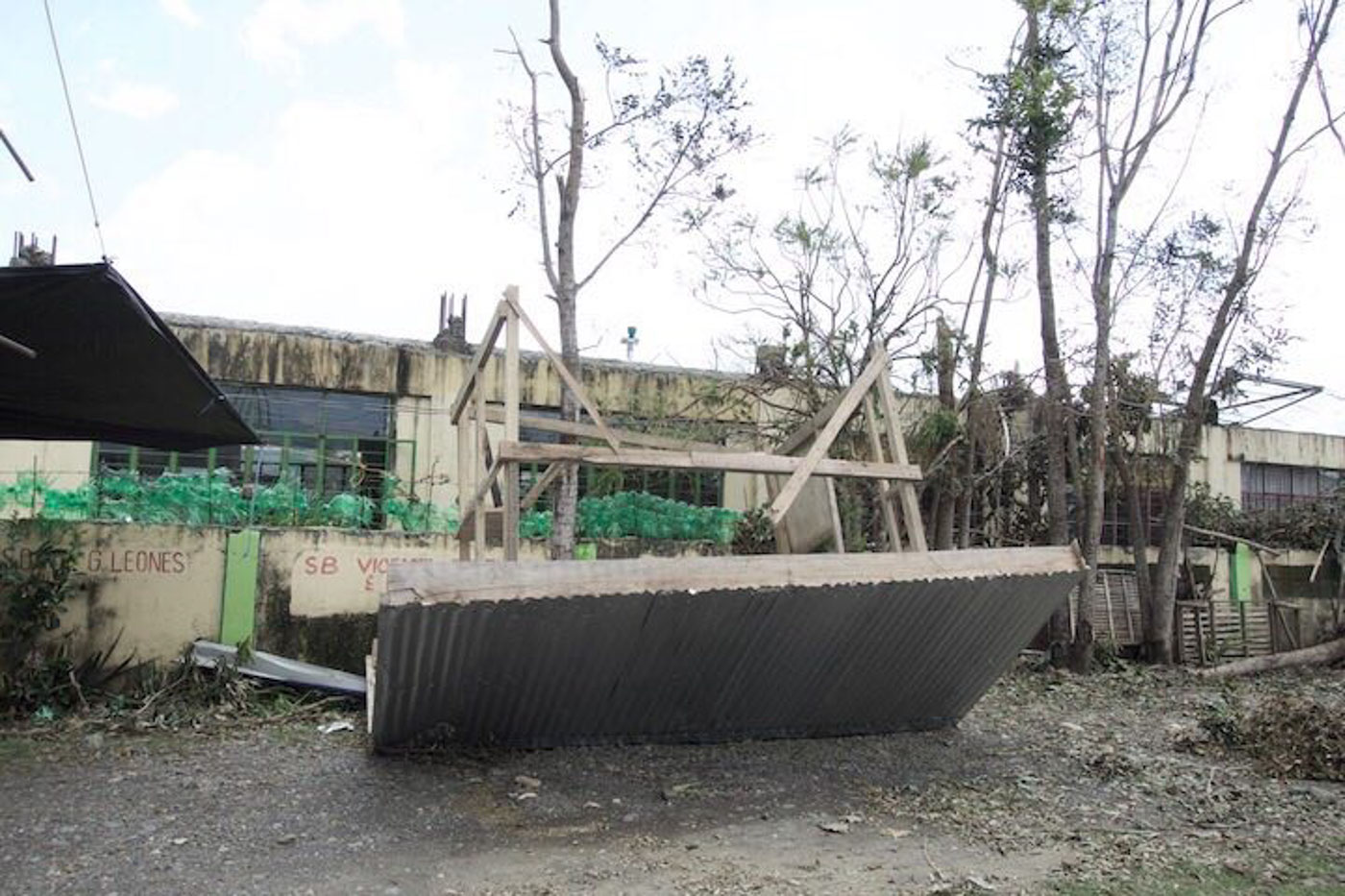 GROUND ZERO. Baggao Municipality in Cagayan province suffers devastation in infrastructure and loss of crops from being the first to get hit by Typhoon Ompong (Mangkhut). Photos by Rambo Talabong/Rappler