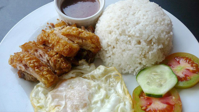 BAGNET VALUE MEAL. Fried pork belly with rice and fried egg. Photo courtesy of I-Bagnet Resto u0026 Bar's official Facebook page