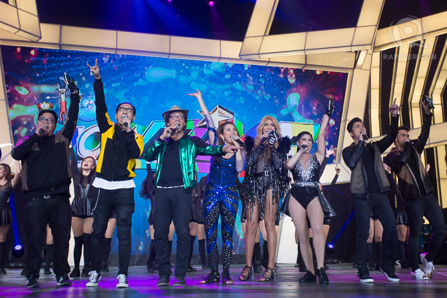 HAPPY ANNIVERSARY. The hosts of 'It's Showtime' celebrate 6 years of the show. Photo by Manman Dejeto/Rappler