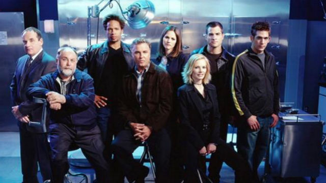 GOODBYE 'CSI.' The hit show is set to end after 15 seasons. Photo from Twitter/@marghelgen