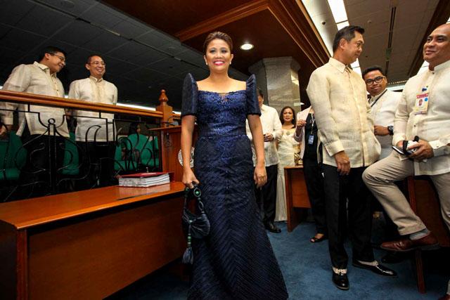Senator Nancy Binay. Photo by Mark Cristino/Rappler